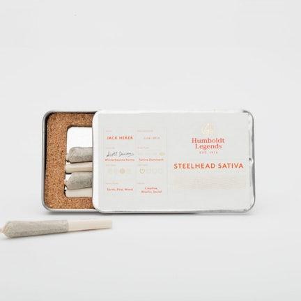 Mini Joint 5 Pack – Humboldt Legends (half gram each – 4 options)